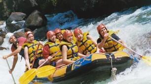 rafting north Queensland