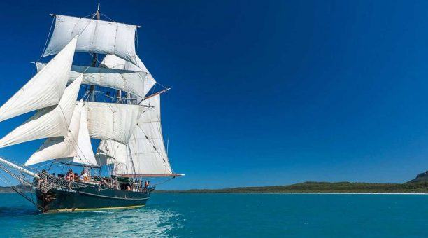 Whitsundays 4 Day Sailing Adventure on a Majestic Tall Ship