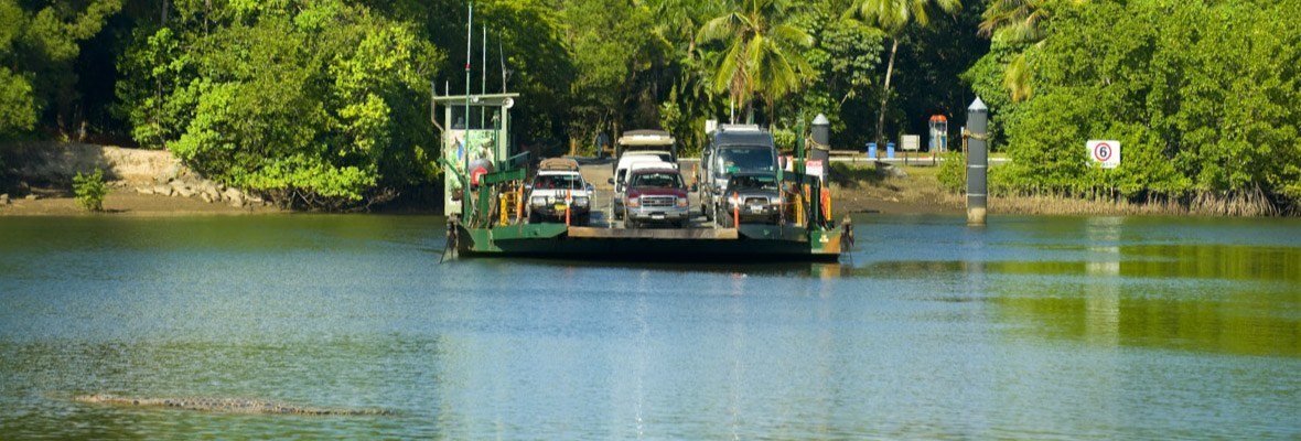 Daintree River Cable Ferry
