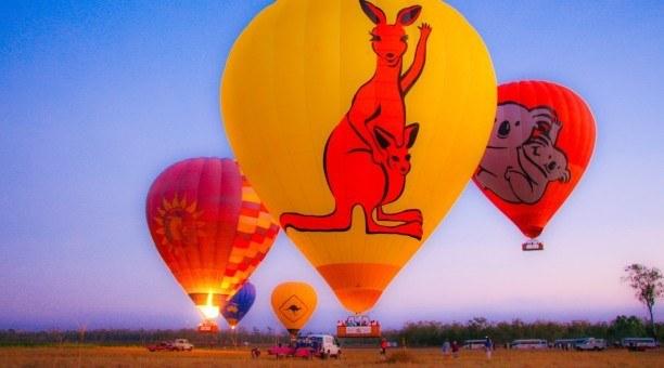 Hot Air Ballooning and Green Island
