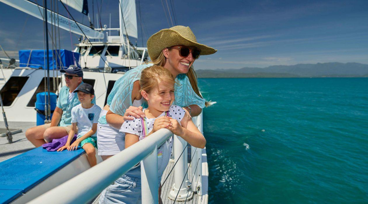 Sailing the Great Barrier Reef