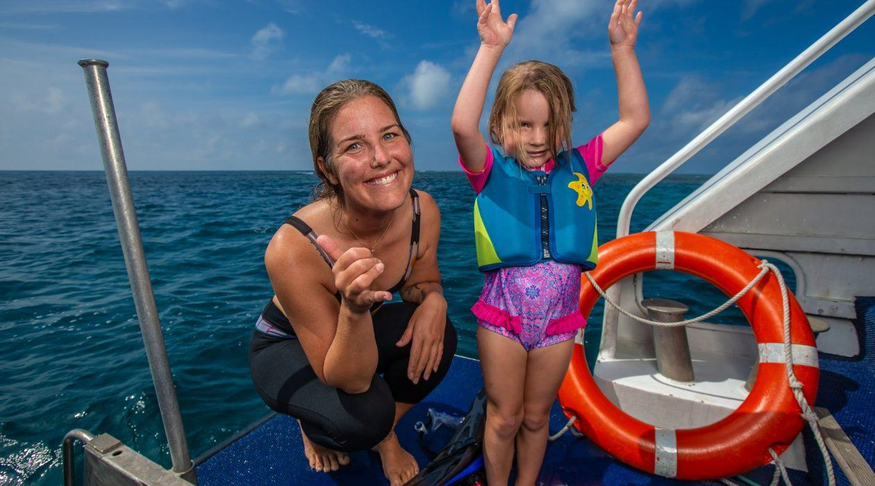 Our Friendly Crew Will Look After Your Family