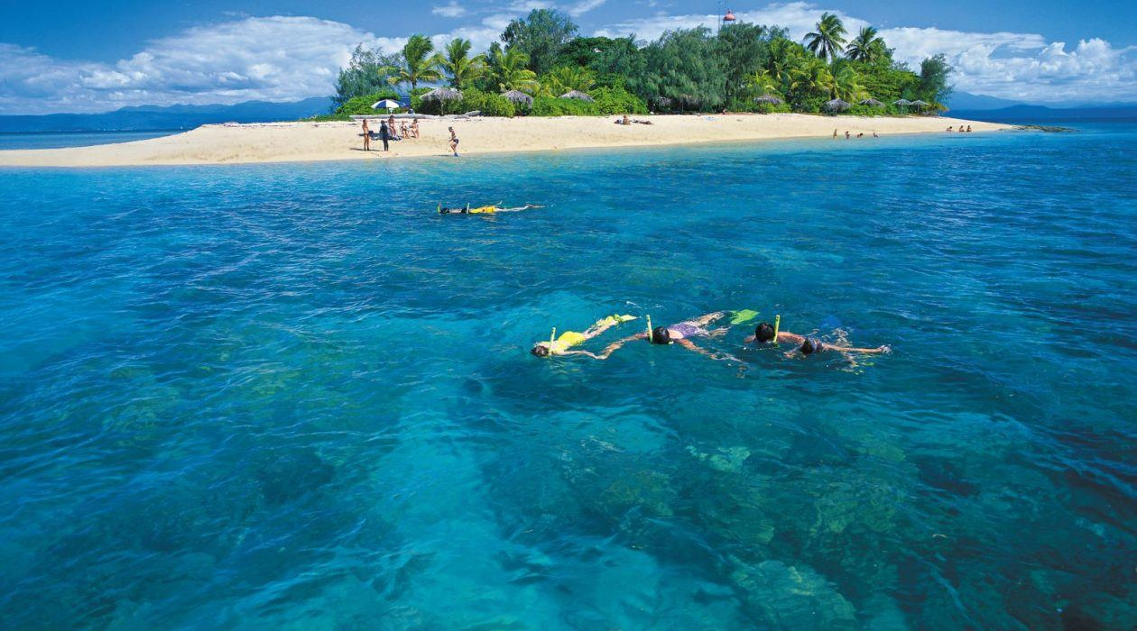 Snorkelling at Low Isles